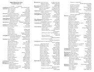 Plant List - Bahia Honda - Florida State Parks
