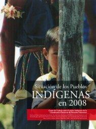 Grupo de Trabajo sobre Pueblos Indígenas de la ... - Cepes