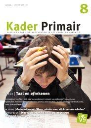 Kader Primair 8 (2011-2012). - Avs
