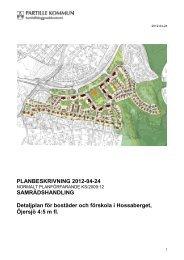 PLANBESKRIVNING 2012-04-24 ... - Partille kommun