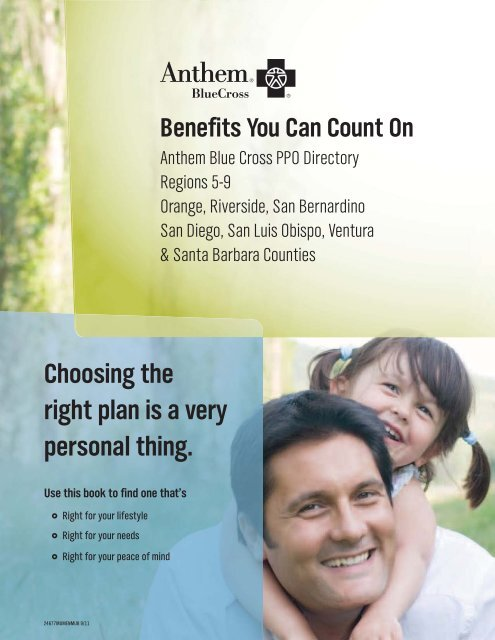 Anthem Blue Cross PPO Directory - Regions 5-9 - My Benefit