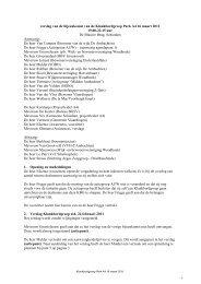 Verslag klankbordgroep Park A4 op 16 maart 2011 - Gemeente ...