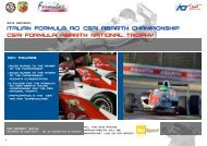 pres. ABARTH 2013 UK - ACI Sport Italia