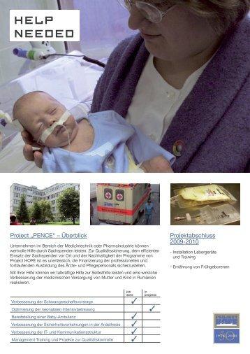 Factsheet_Rumaenien_Dez_2009.pdf - Project HOPE eV