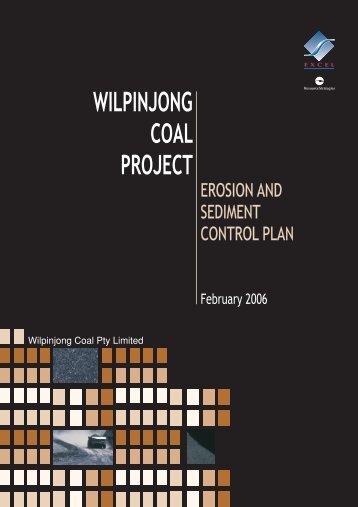 Erosion and Sediment Control Plan (ESCP) - Peabody Energy