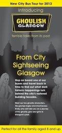 Ghoulish Glasgow Leaflet .pdf - City Sightseeing Glasgow