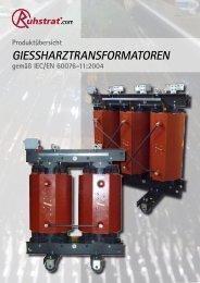 GieSSharztranSformatoren - Ruhstrat GmbH