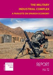 the military industrial complex a parasite on spanish ... - Centre Delàs