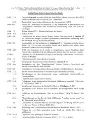 Zeittafel zum Leben Johann Sebastian Bachs 1685 21.3. - jwilhelm.de