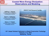 Coastal Wave Energy Dissipation: Observations and Modeling - fsbpa