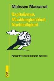Kapitalismus – Machtungleichheit – Nachhaltigkeit - VSA Verlag