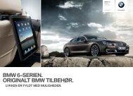 BMW -SERIEN. ORIGINALT BMW TILBEHØR. - BMW Danmark