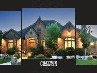 Proud to Introduce Peach Lane - Chatwin Homes