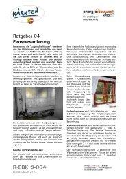 Fenstersanierung - energiewerkstatt.eu