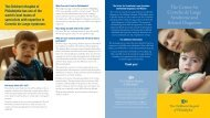 The Center for Cornelia de Lange Syndrome and Related ... - CdLS