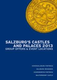 Group programme 2013 to download - Salzburgs Burgen und ...
