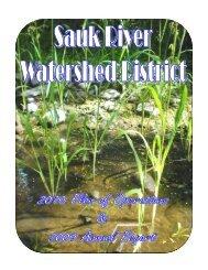 1 Sauk River Watershed District 2009 Annual Report & 2010 Plan of ...