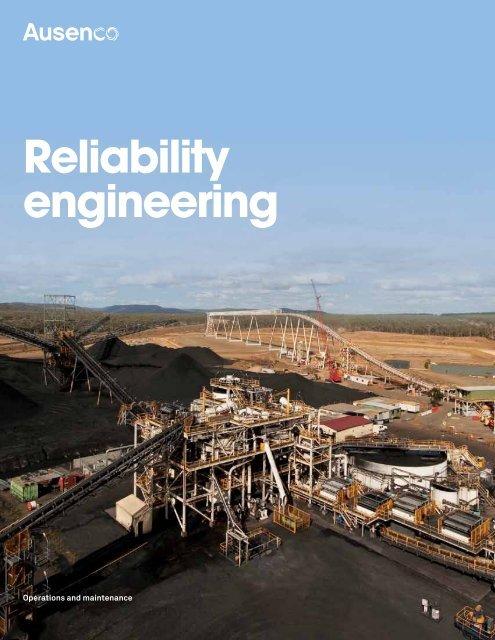 reliability engineering brochure - Ausenco