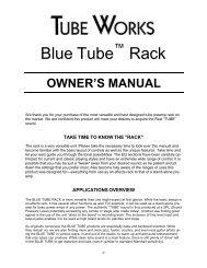 904 Blue Tube™ Rack - Genz Benz