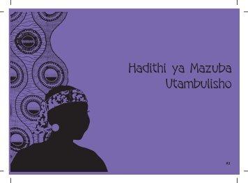 Hadithi ya Mazuba Utambulisho - Raising Voices