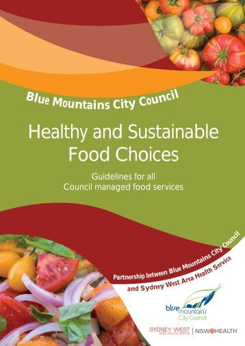 Healthy and Sustainable Food Choices - Sustainable Blue Mountains