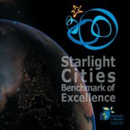 STARLIGHT CITIES Benchmark of Excellence2 ... - Starlight Initiative