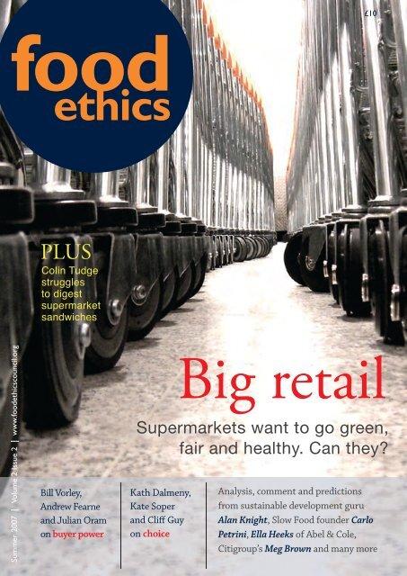 ethics - Food Ethics Council