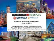 Financing Mixed-Use Development June 24, 2013 - Archive - ULI