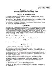 Benutzungsordnung für das Freibad Am Bäker - Stadt Varel