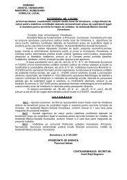HCL 115 / 2007 - Primaria Municipiului Hunedoara