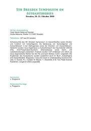 5th Dresden Symposium on Autoantibodies - (GFID) eV