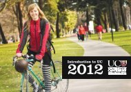 Introduction to UC - University of Canterbury