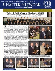 Volume 4, Issue 9 - National Football Foundation