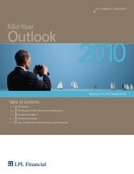 Mid-Year Outlook for 2010