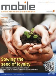 Sowing the seed of loyalty - Telecoms.com