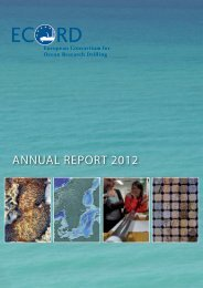 annual report 2012 - European Consortium for Ocean Research ...