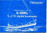 Datamarine S100KL - Early Light Home Page