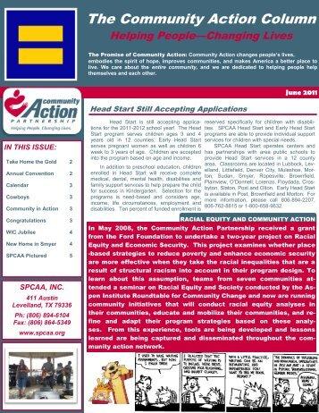 june 2011 - South Plains Community Action Association, Inc.