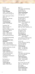 Hilfreiche Adressen (8. Auflage 2008/2009) - TCLG - Seite 4