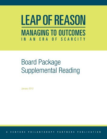 Board Package Supplemental Reading - Venture Philanthropy ...