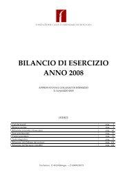 Scarica il Documento - Fondazione Carisbo