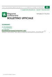 secondo periodo 2010 - Provincia di Milano