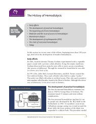 The History of Hemodialysis - BC Renal Agency
