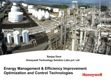 Energy Management & Efficiency Improvement Optimization and ...
