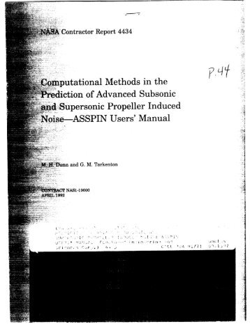 ASSPIN Users' Manual - CAFE Foundation