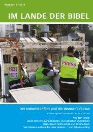 IM LANDE DER BIBEL - Jerusalemsverein