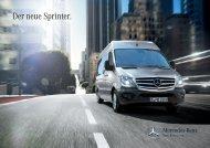 Der Sprinter. - Mercedes Benz