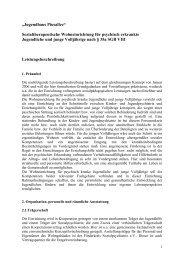 Konzept des Jugendhauses - FSP - Förderkreis Sozialpsychiatrie eV ...