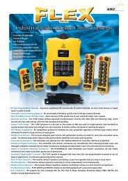 Industrial Radio Remote Control Systems - Midtjydsk Elektro A/S