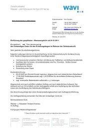 Auftrag Vermessung Niederschlagswasser.pdf - Wasser- und ...